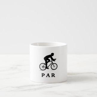 Paris France Cycling PAR Espresso Mug