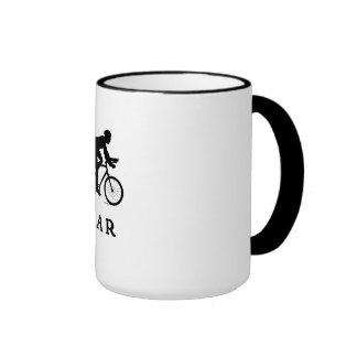 Paris France Cycling PAR Ringer Mug