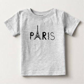Paris, France | Eiffel Tower Baby T-Shirt