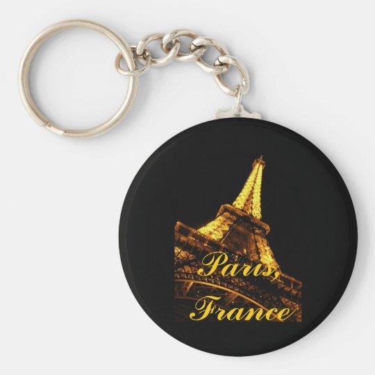 Paris, France, Eiffel Tower, Keychain