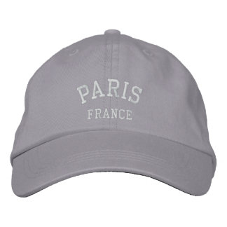 PARIS, FRANCE EMBROIDERED HAT