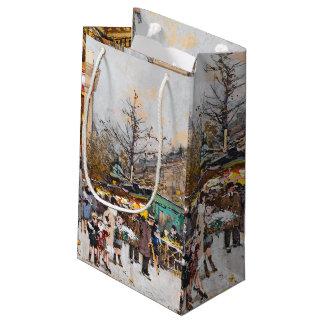 Paris France Flowers Street Vendors Gift Bag