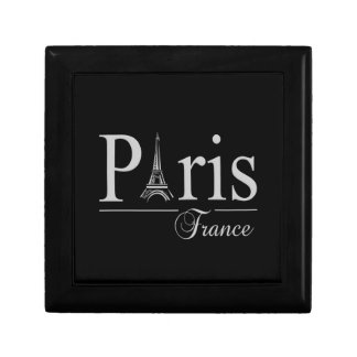 Paris France gift box, customize Small Square Gift Box