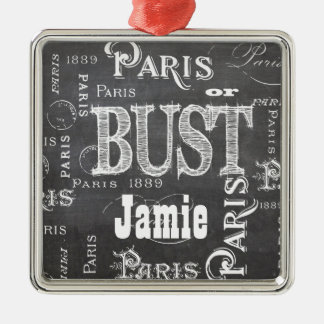 Paris France Gifts and Souvenirs Christmas Ornament