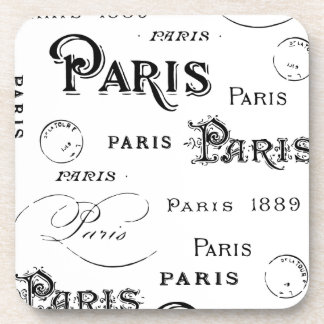 Paris France Gifts and Souvenirs Drink Coasters