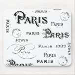 Paris France Gifts and Souvenirs Mouse Pad
