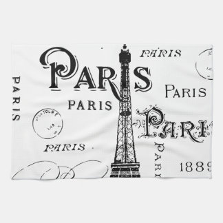 Paris France Gifts and Souvenirs Tea Towel