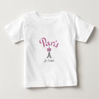 Paris, France Je t'aime Eiffel Tower Tee Shirt