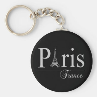 Paris France key chain