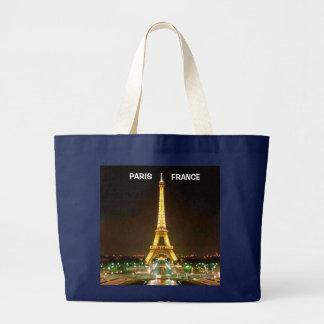 PARIS FRANCE LARGE TOTE BAG