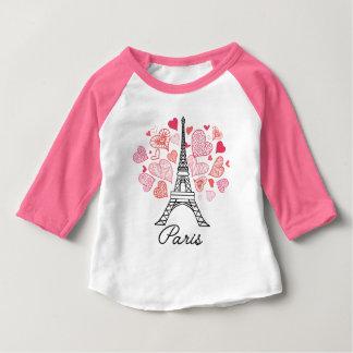 Paris, France Love Baby T-Shirt