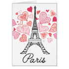 Paris, France Love Card