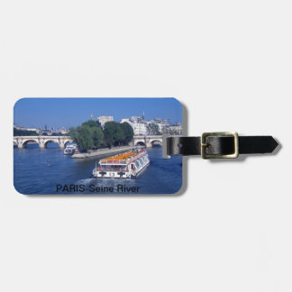 Paris France Luggage Tag