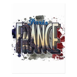 Paris, France Modern Art Design Postcard