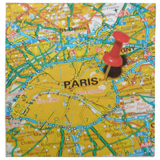 Paris, France Napkin