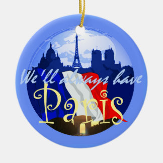 PARIS France Ornament