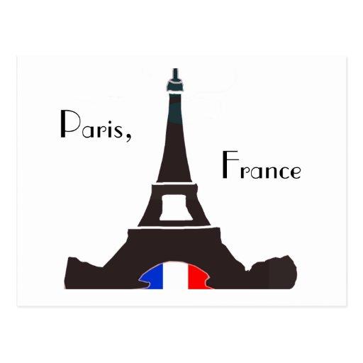 Paris France Postcard