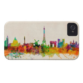 Paris France Skyline Cityscape iPhone 4 Covers