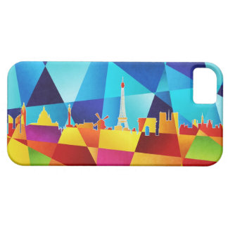 Paris France Skyline Cityscape iPhone 5 Case