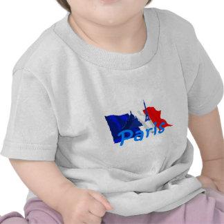 Paris France Tee Shirts