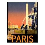 Paris France Vintage Postcard