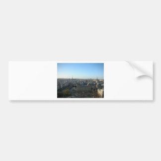 Paris from Notre-Dame Bumper Sticker