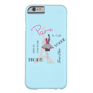 Paris Haute Couture, Fashion, Eiffel Tower Barely There iPhone 6 Case