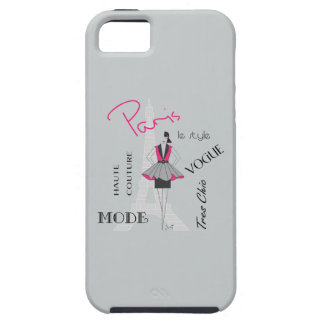 Paris Haute Couture, Fashion, Eiffel Tower iPhone 5 Case