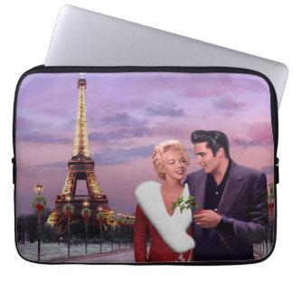 Paris Holiday Laptop Sleeve