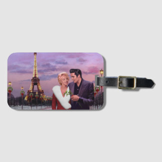 Paris Holiday Luggage Tag