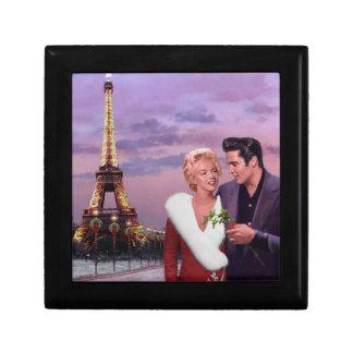 Paris Holiday Small Square Gift Box