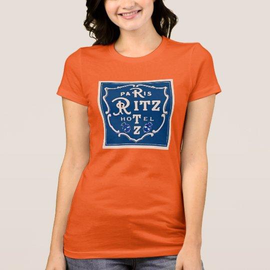 Paris Hotel Sticker T-Shirt