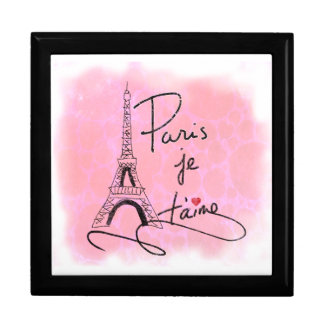 Paris I Love You Pink PXLY Gift Box