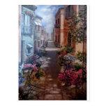 Paris in bloom postcard