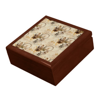 Paris in Brun Large Square Gift Box