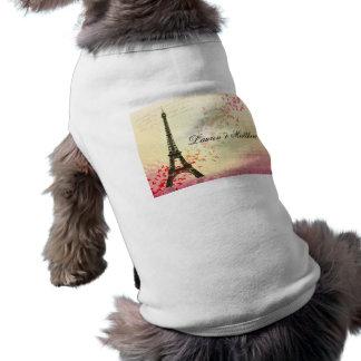 Paris in Love - Eiffel Tower Dog Clothes