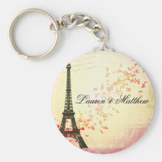 Paris in Love - Eiffel Tower Key Ring