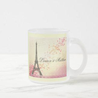Paris in Love - Eiffel Tower Coffee Mugs