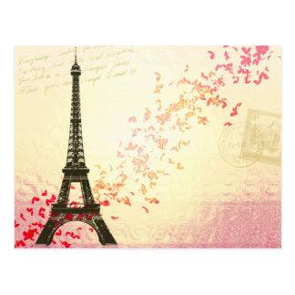 Paris in Love - Eiffel Tower Post Cards