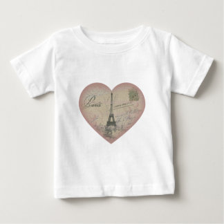 Paris in my heart baby T-Shirt