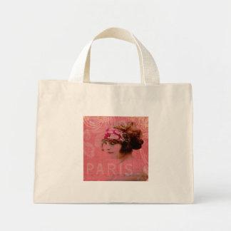 Paris in Pink Tote Bag