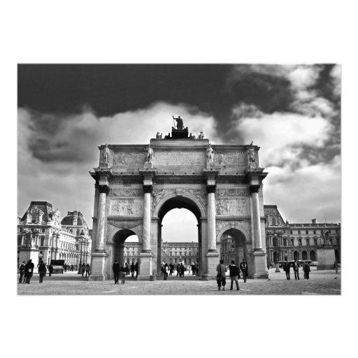 Paris Personalized Invitations