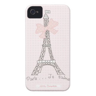 Paris je t'aime Case iPhone 4 Case-Mate Case