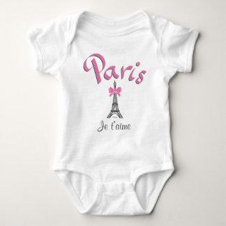 Paris Je taime II Baby Bodysuit