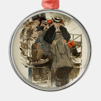 Paris July 1905 Christmas Ornament