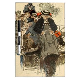 Paris July 1905 Dry-Erase Whiteboard
