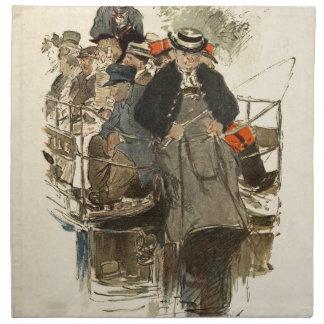 Paris July 1905 Napkin