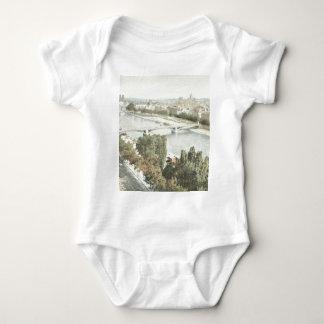Paris, La Seine Baby Bodysuit