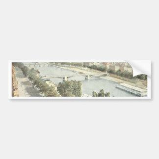Paris, La Seine Bumper Sticker