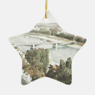 Paris, La Seine Christmas Ornament
